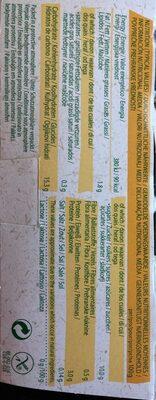 Dessert Soya Caramel - Informations nutritionnelles - fr