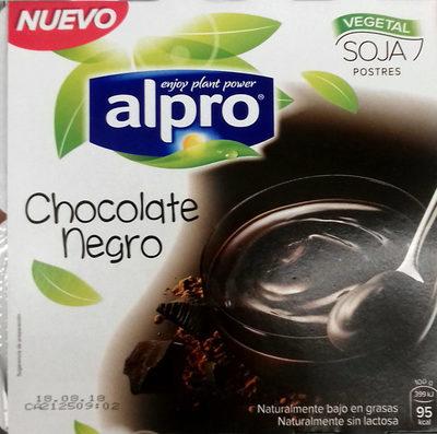 Alpro postre chocolate negro - Producto