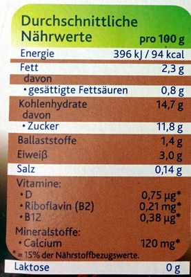 Dark chocolate fine dry - Nutrition facts