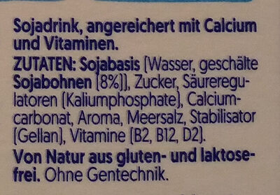 Soya Original Drink - Zutaten - de