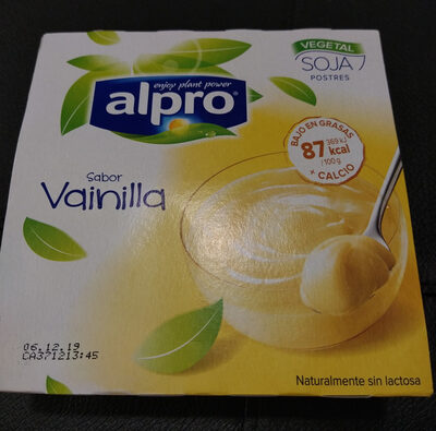 Postre de soja sabor vainilla - Product