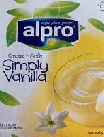 Postre de soja sabor vainilla - Produit - fr
