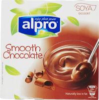 Soya dessert smooth chocolate - Produit - fr