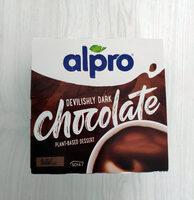 Devilishly dark chocolate plant-based dessert - Product - en