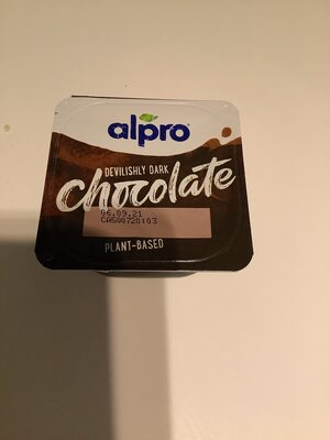 Alpro chocolate - Nutrition facts - en