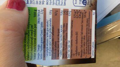 Devilishly dark chocolate plant-based dessert - Informations nutritionnelles