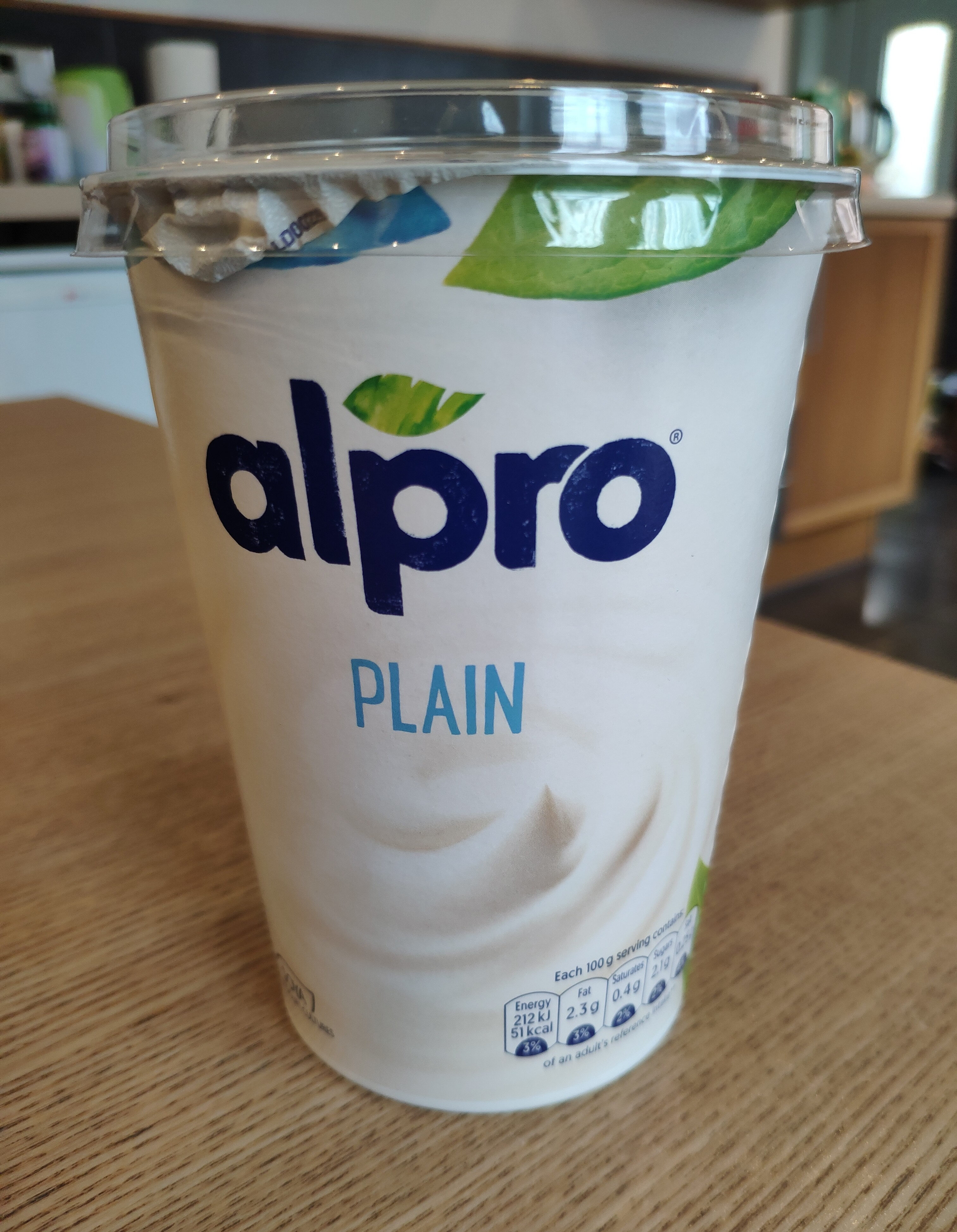 Alpro Plain Yogurt - Product - en