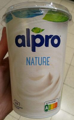 Simply plain - soya yogurt - Produit - fr