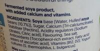 Alpro Plain Yogurt - Ingrediënten - en