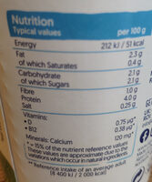Alpro Plain Yogurt - Voedingswaarden - en
