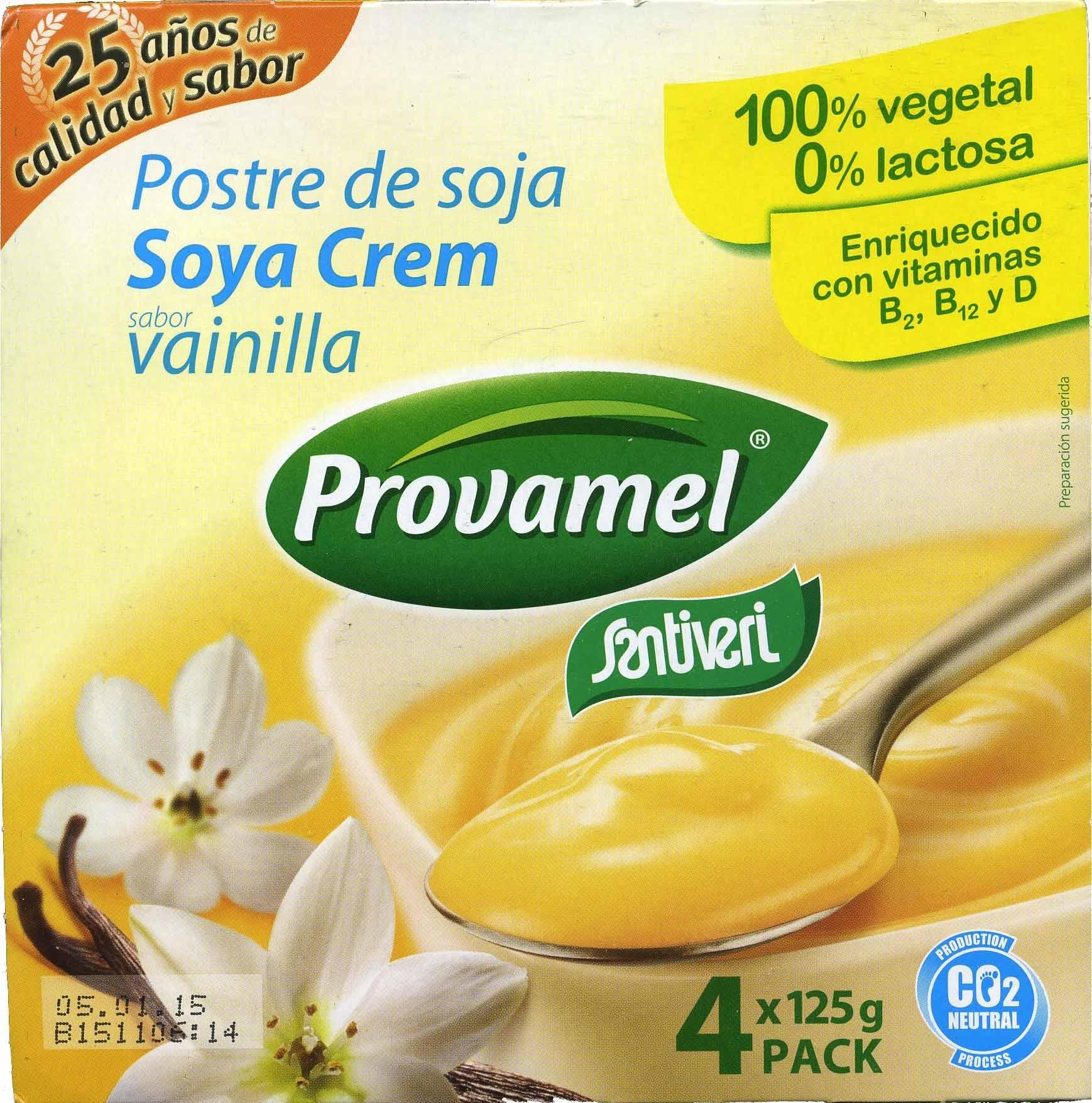 Postre de soja vainilla - Producto - es