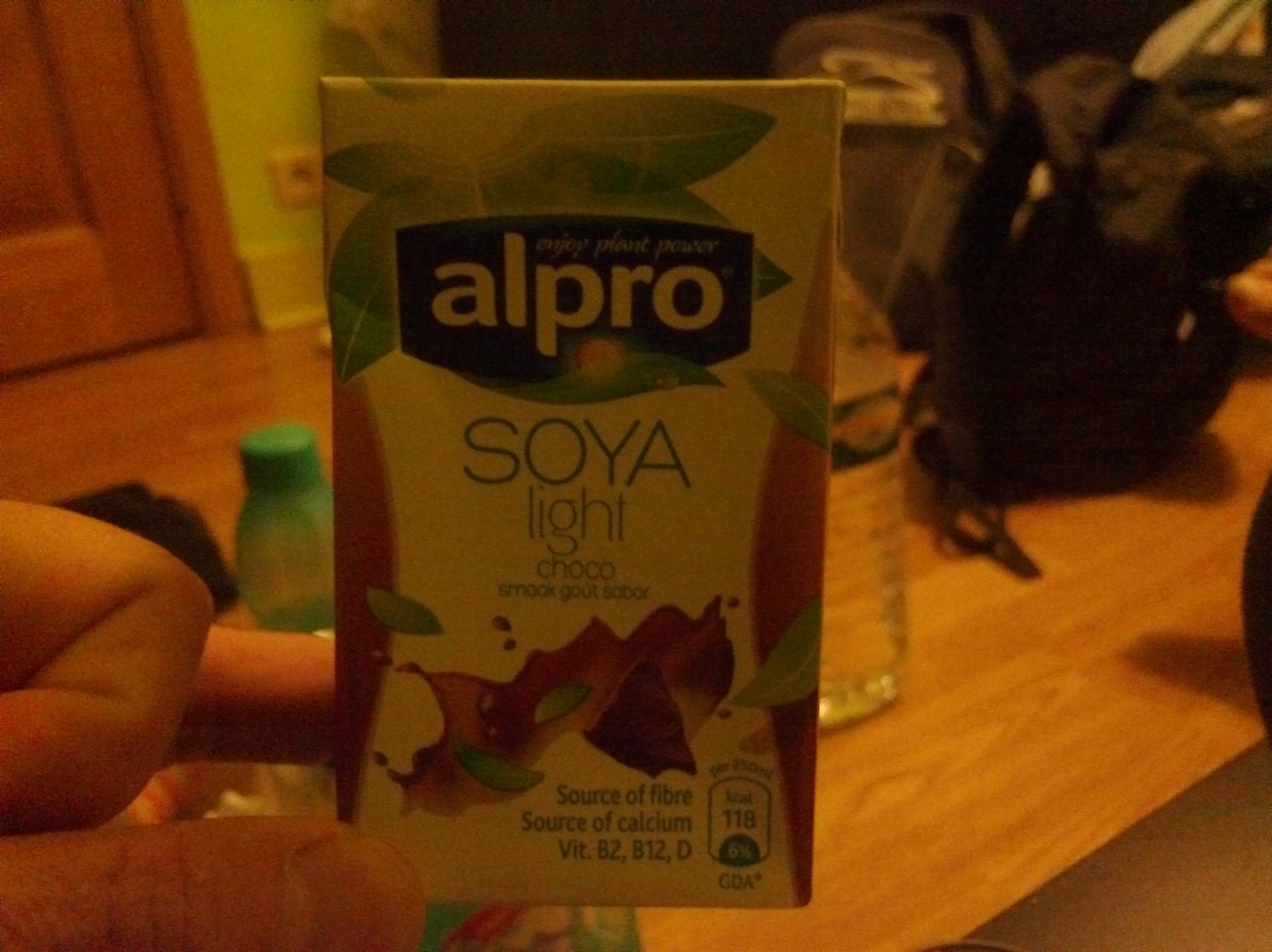 Alpro soya light choco 6 for Alpro soya cuisine light