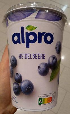 Sojajoghurt Heidelbere - Produkt - de
