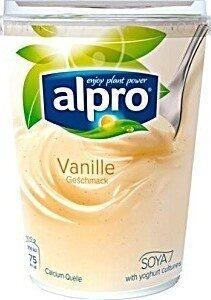 Alpro Soya Vanille Geschmack - Product - de