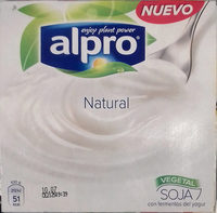 Postre de Soja Natural - Product - es