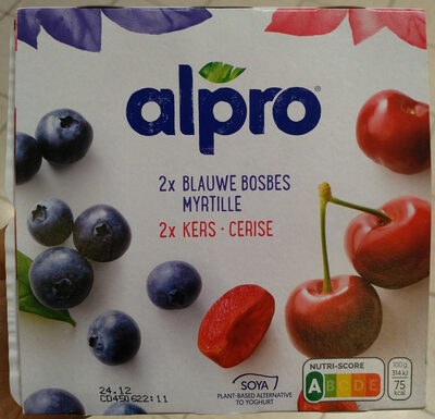 Soja myrtille cerise - Product - fr