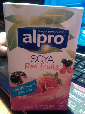 Soya - Red fruits - Produit - fr