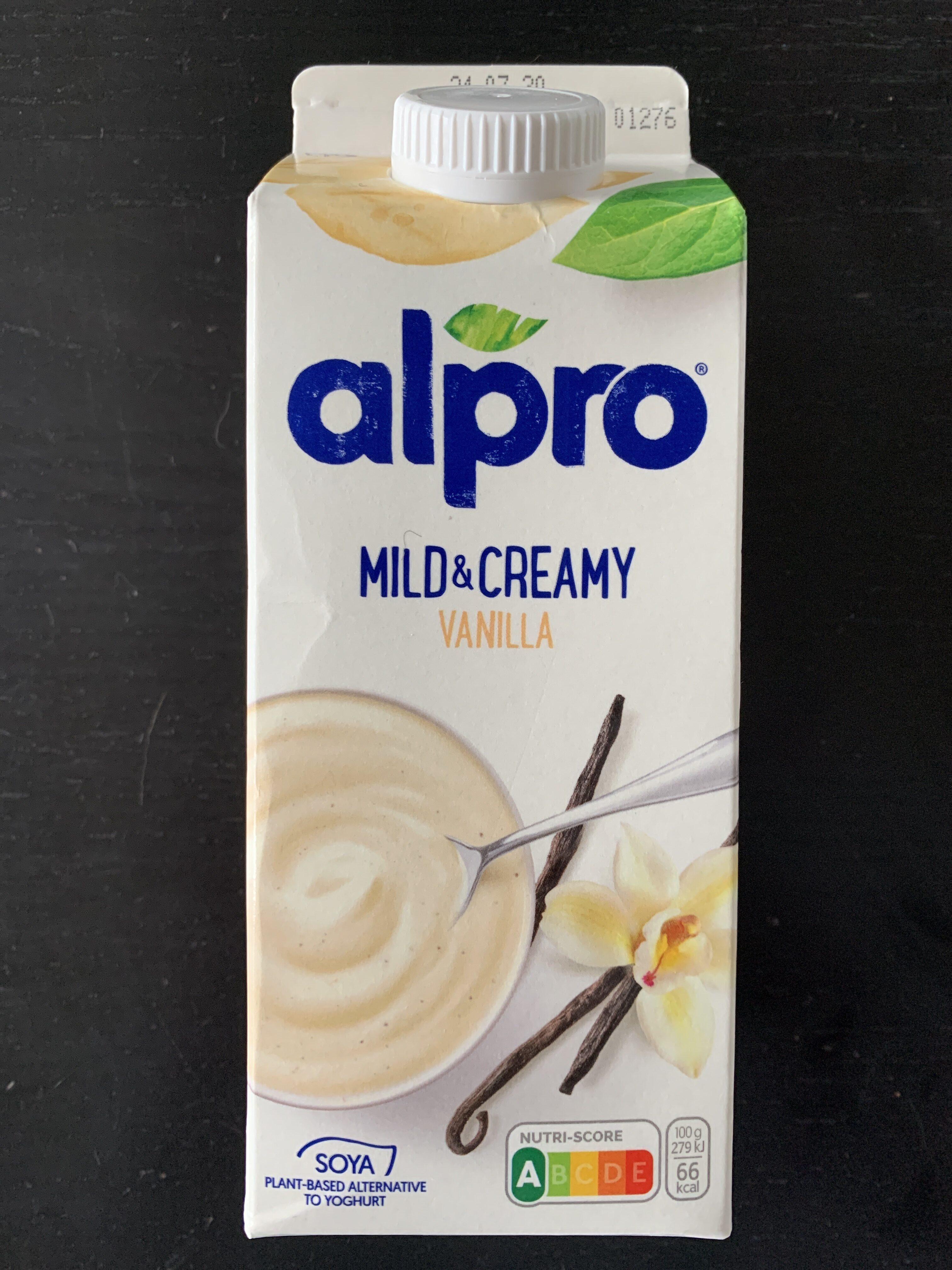 Mild & Creamy Vanille - Produit - fr