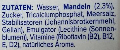 Mandel Original - Ingrediënten - de