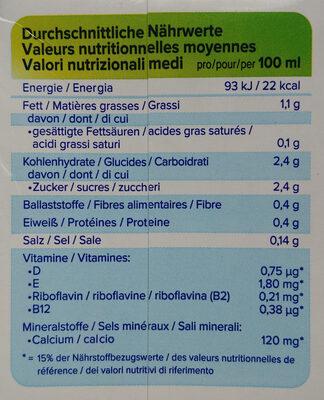 Roasted almond original - Voedingswaarden