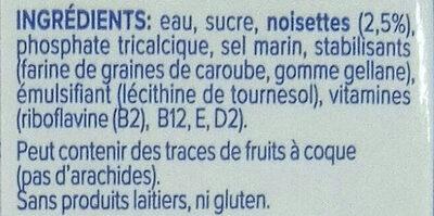 Noisette Original - Ingrediënten - fr