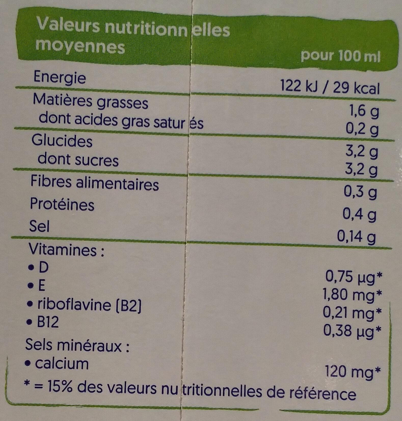Noisette - Voedingswaarden - fr