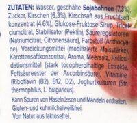 Alpro Kirsche - Ingredients