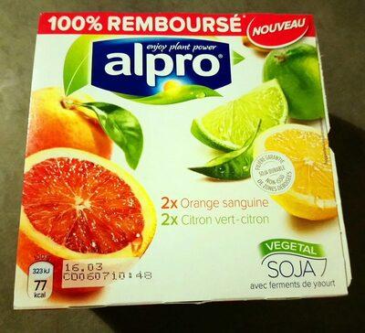 Yaourt agrumes - Product - fr