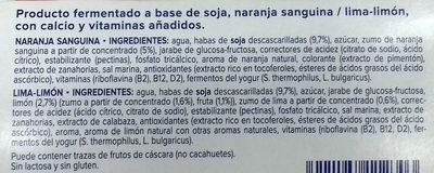 Yaourt agrumes - Ingredientes