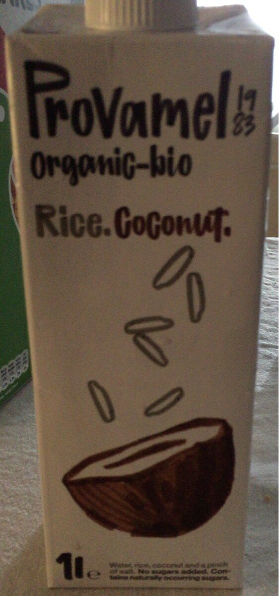 Bebida de arroz-coco - Product - fr
