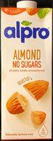 alpro Almond No Sugars - Produto - en