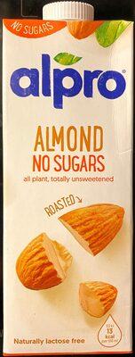 alpro Almond No Sugars - Prodotto - en
