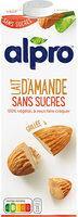alpro Almond No Sugars - Produit - fr