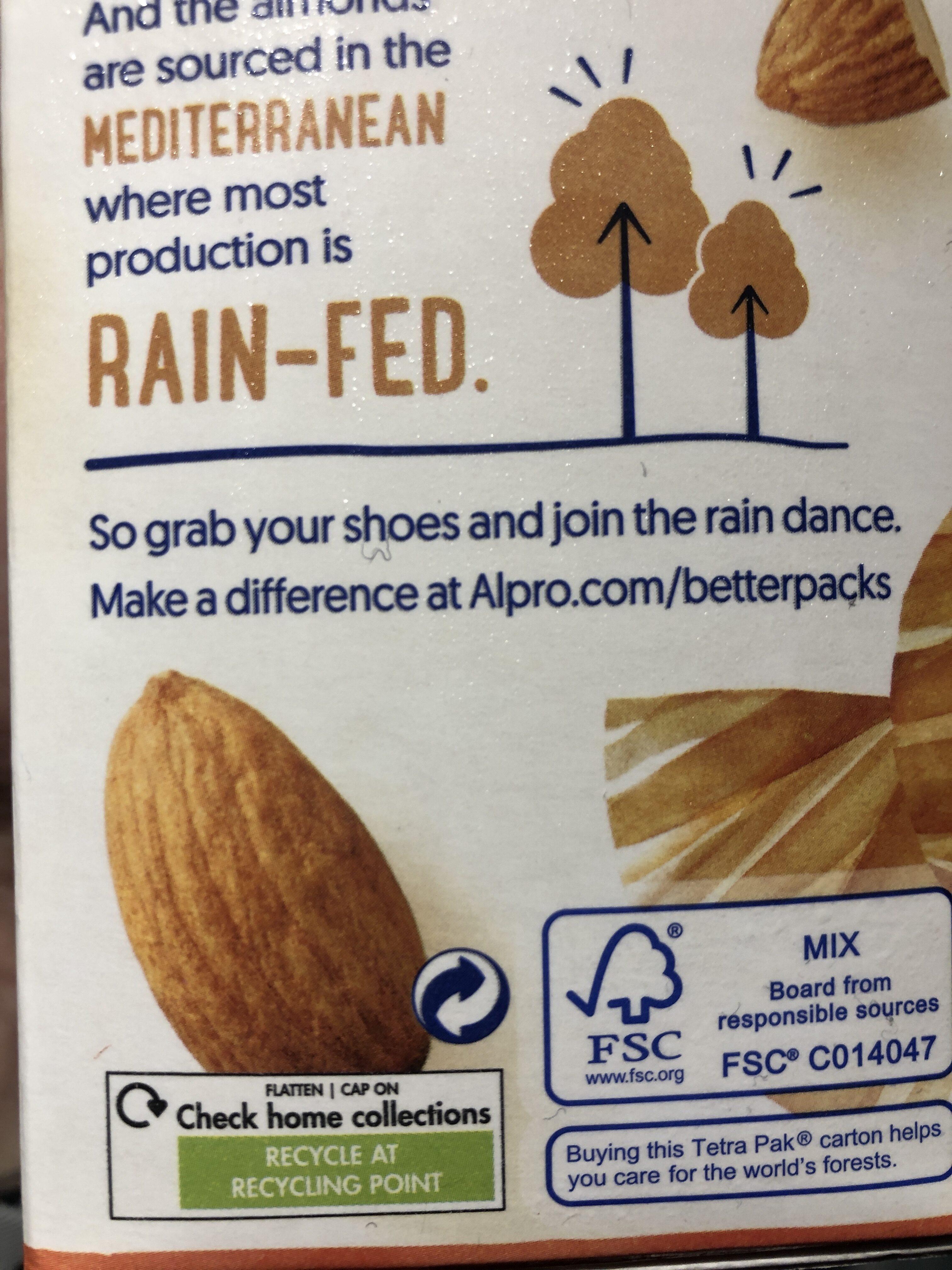 Almond Unsweetened Drink - Recyclinginstructies en / of verpakkingsinformatie - en