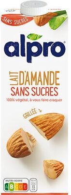 lait d'amande grillée sans sucre - Product - fr