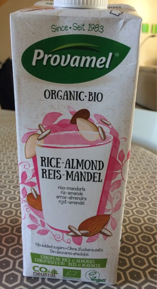 Rice-almond drink - Product - en
