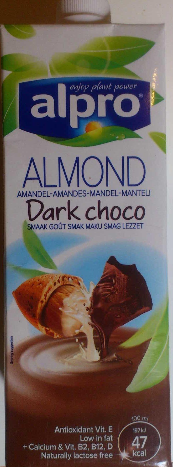Boisson Amandes Chocolat Noir - Produit