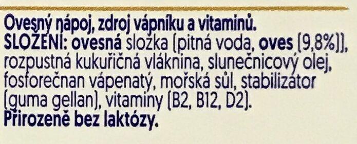 Avoine original - Složení - cs