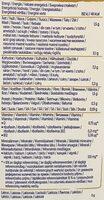 Avoine original - Výživové údaje - cs