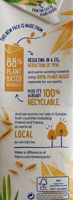 Avoine original - Recycling instructions and/or packaging information - en