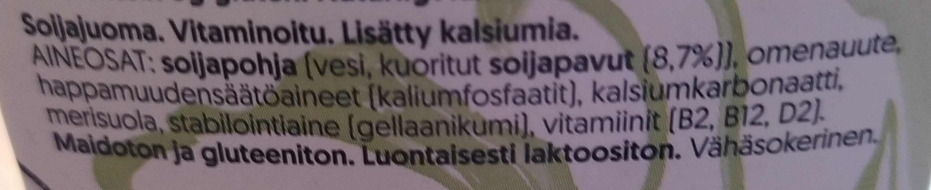 alpro barista, soijamaitojuoma - Ingredienti - fi