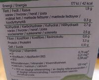 alpro barista, soijamaitojuoma - Valori nutrizionali - fi