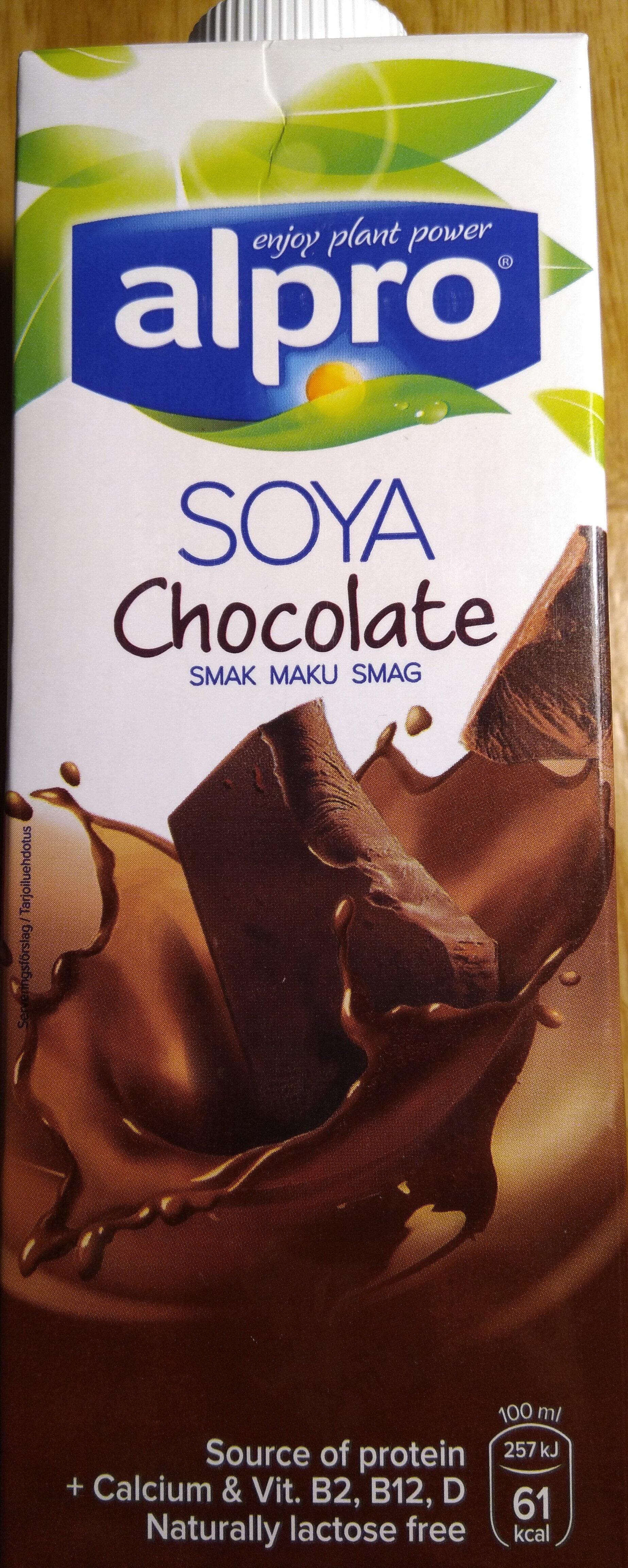 Boisson soja saveur chocolat - Tuote - fi
