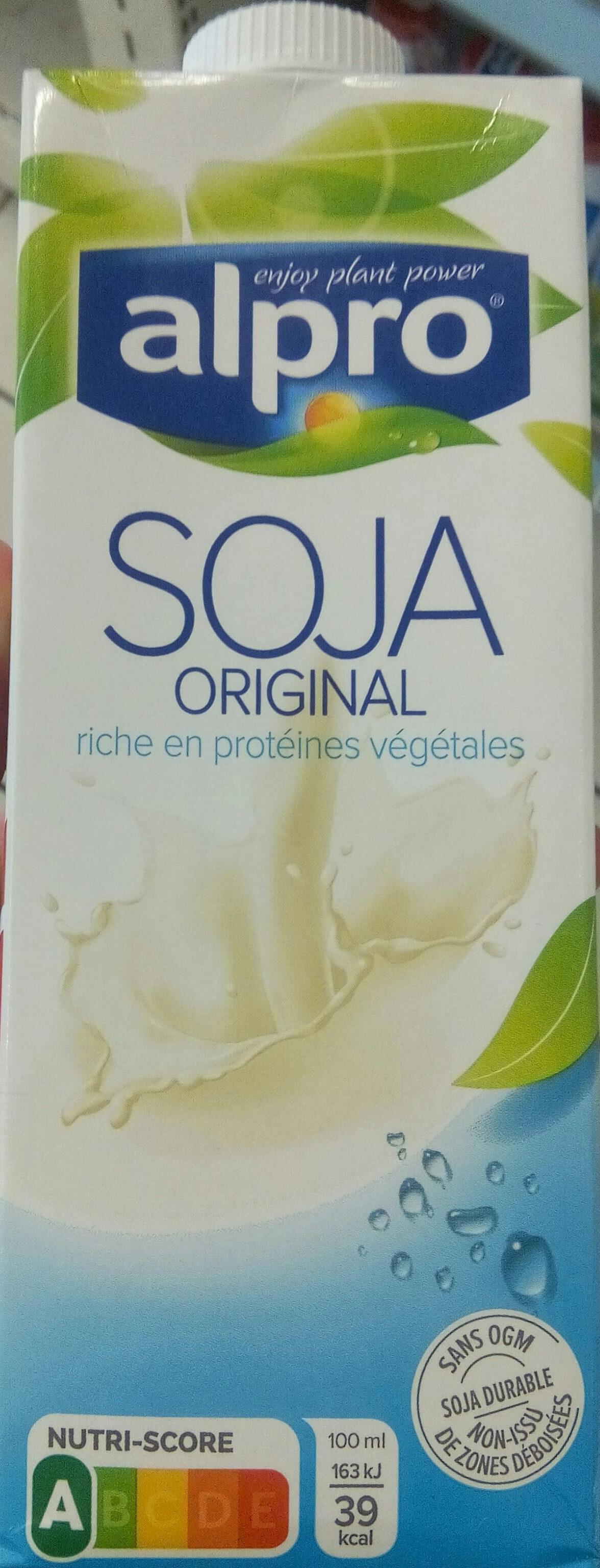 Soja original saveur douce - Product