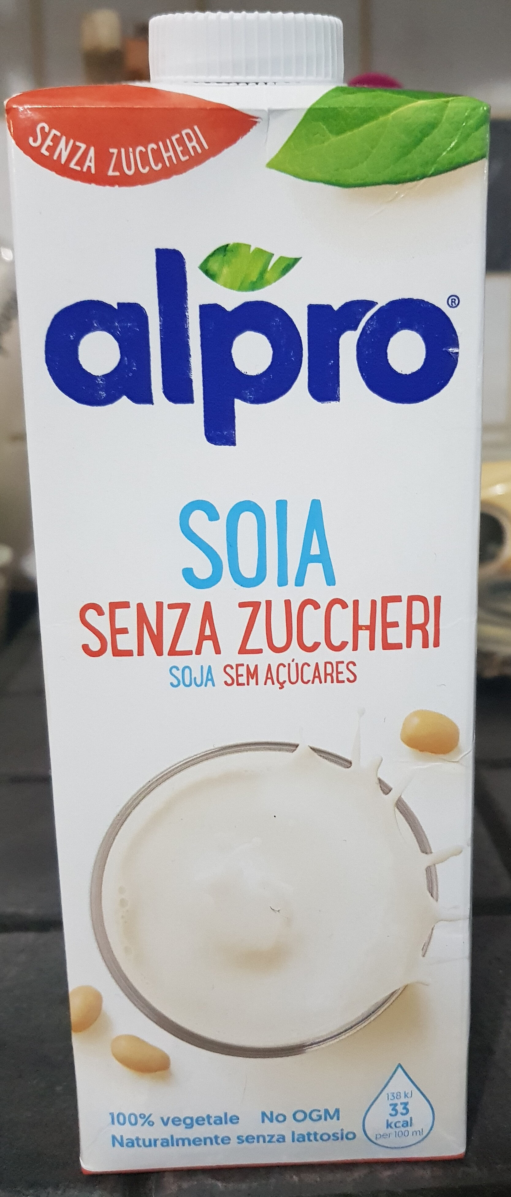 soia senza zuccheri - Prodotto - it