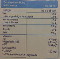 Soya light - Nutrition facts - de