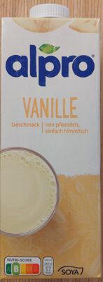 Alpro Lait Vanille - Produkt - de