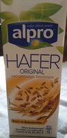 Haferdrink, angereichert mit Calcium und Vitaminen - Produit