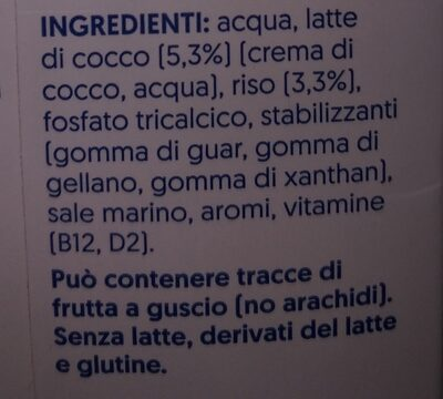 Cocco - Ingredienti - it