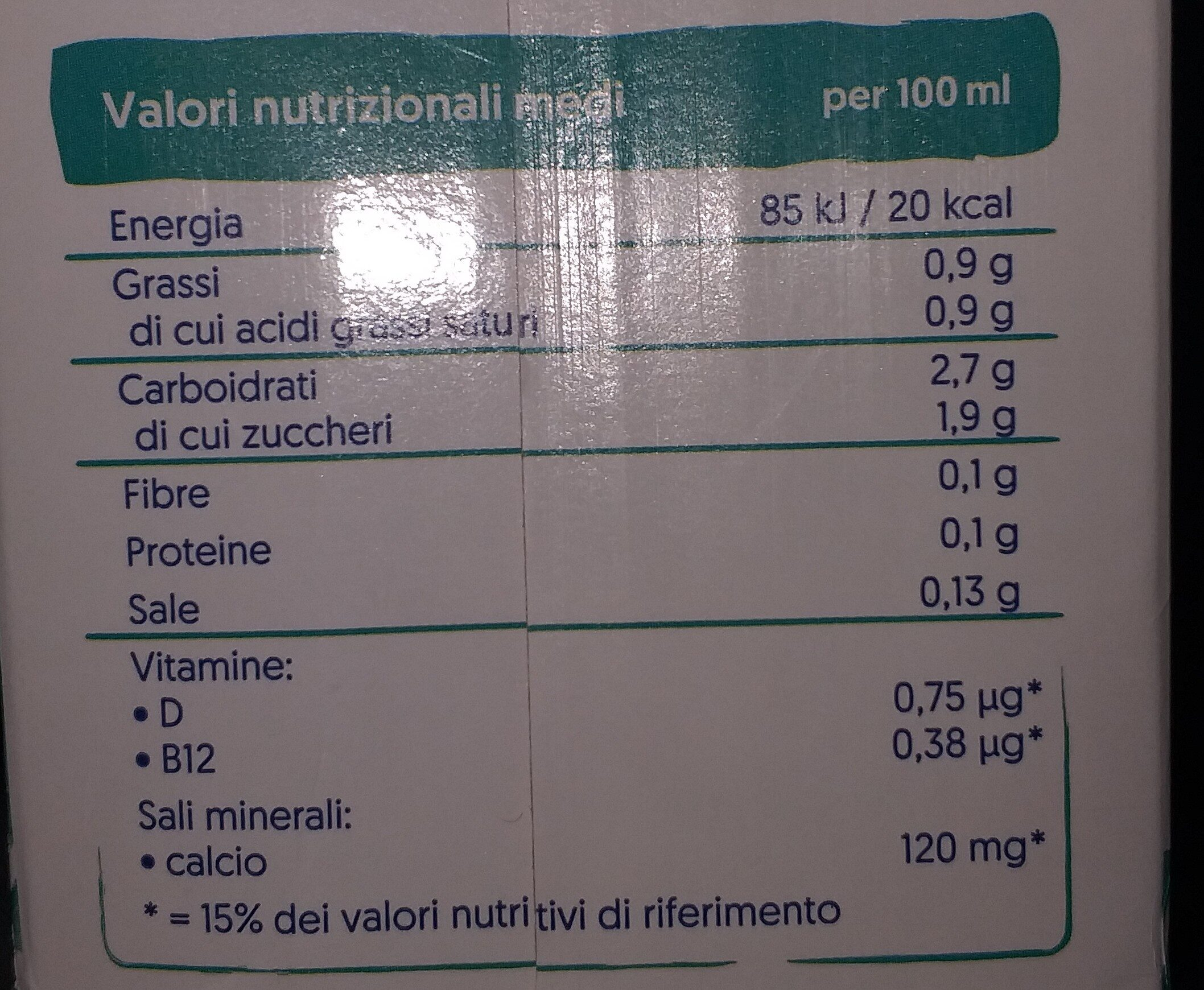 Cocco - Nutrition facts - it
